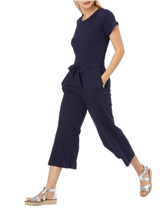 Marc O'Polo Denim Jumpsuit mit Taillenband in Blau / Türkis - 1