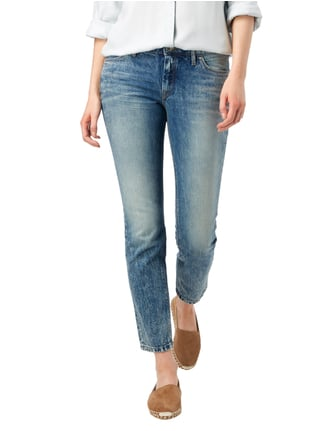 Marc O'Polo Denim Old Blue Washed Straight Fit Cropped Jeans Jeans - 1