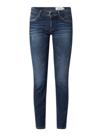 Marc O'Polo Denim Slim Fit Jeans mit Stretch-Anteil Modell 'Alva' Blau - 1