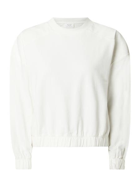 marc o'polo sweatshirt weiß