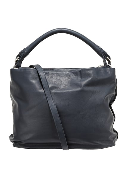 marc o polo hobo bag aus leder mit zwei hautf chern in blau t rkis online kaufen 9737116 p c. Black Bedroom Furniture Sets. Home Design Ideas