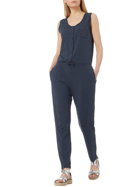 Marc O'Polo Jumpsuit aus Jersey in Blau / Türkis - 1