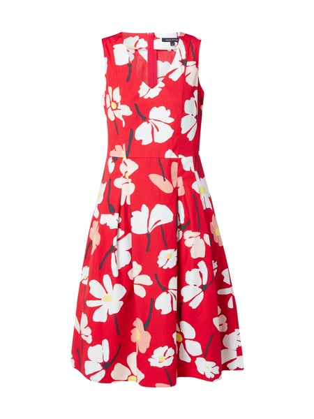 Marc O'Polo Kleid mit Allover-Muster Rot