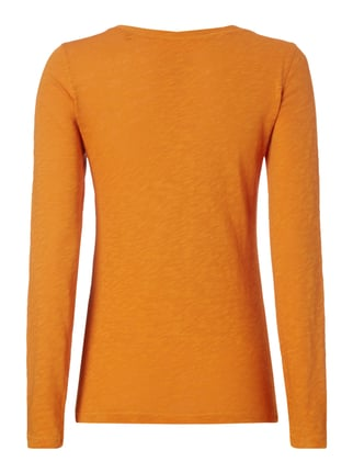 Marc O'Polo Longsleeve aus Baumwolle Orange - 1
