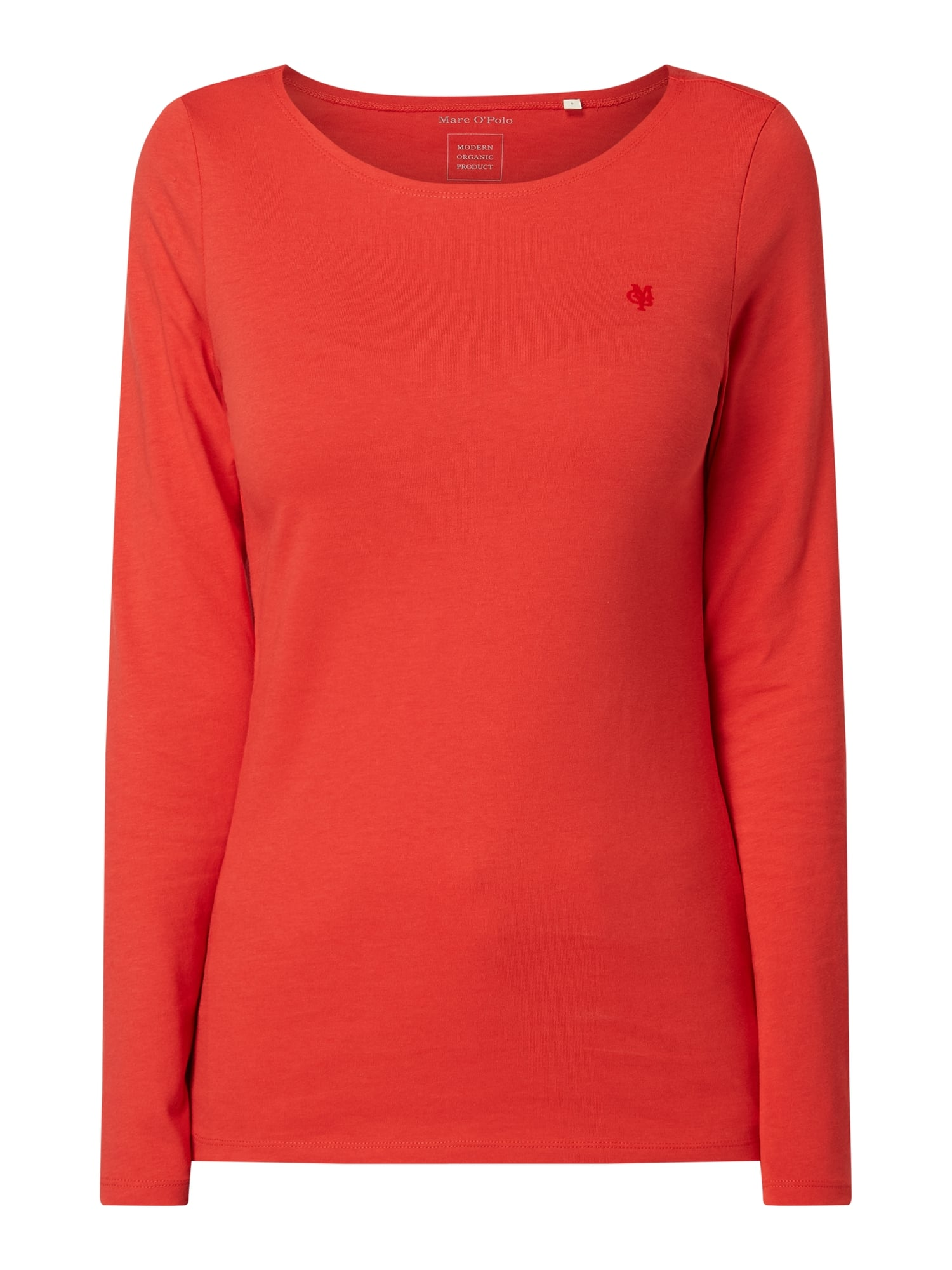MARC O POLO Longsleeve aus Organic Cotton in Rot online kaufen (1006802) ▷ P&C Online Shop