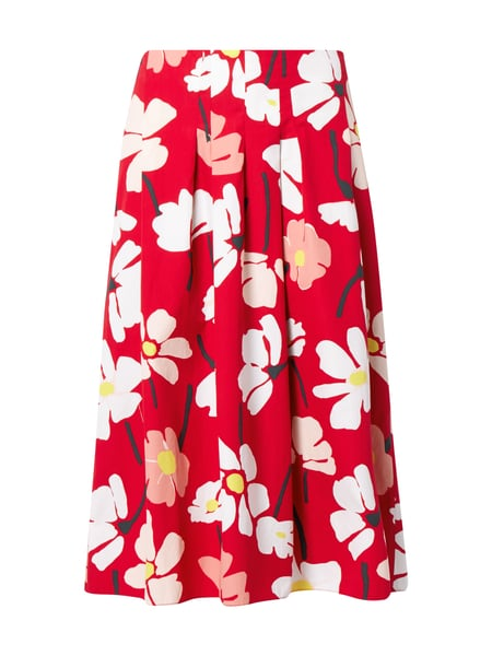 28b775b4a9 MARC-O-POLO Midi-Rock mit floralem Muster in Rot online kaufen ...
