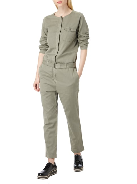 Marc O'Polo Overall im Military-Look in Grün - 1