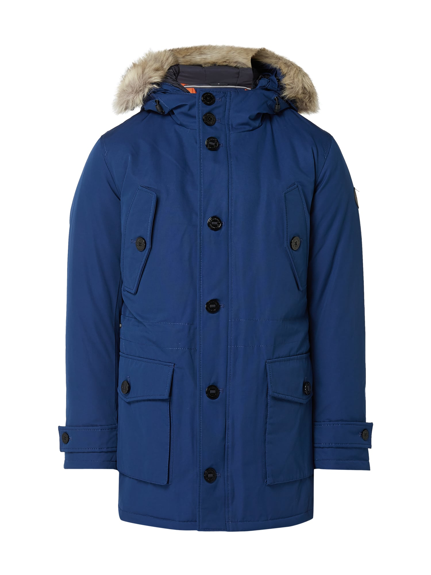 marc o polo parka mit daunen federn f llung in blau t rkis online kaufen 9846702 p c online. Black Bedroom Furniture Sets. Home Design Ideas