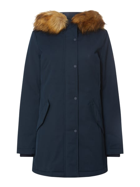 Marc O'Polo Parka mit Fake Fur Blau - 1