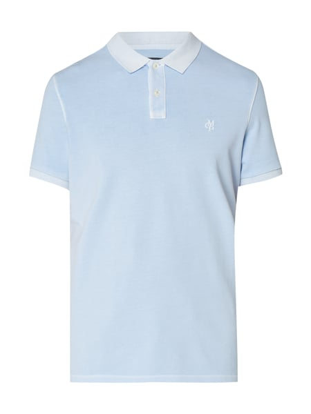 Marc O'Polo Poloshirt im Washed Out Look Weiß