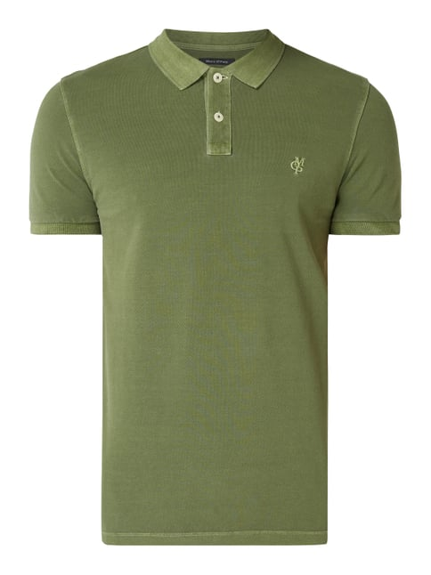 newest df51b 2115f Poloshirt im Washed Out Look