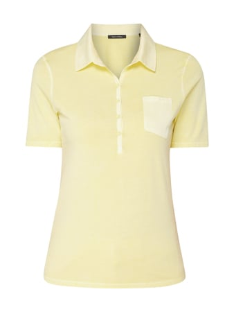 Marc O'Polo Poloshirt im Washed Out Look Gelb - 1