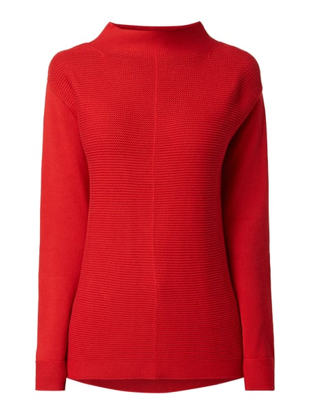 Marc O'Polo Pullover aus Organic Cotton Rot - 1