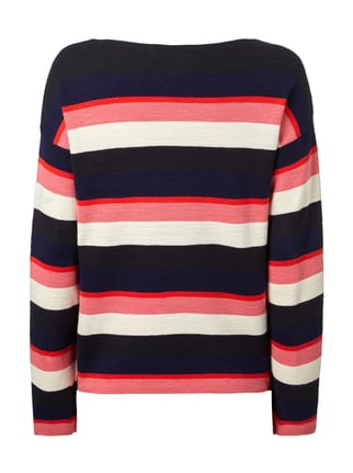 Marc O'Polo Pullover mit Streifenmuster Pink - 1