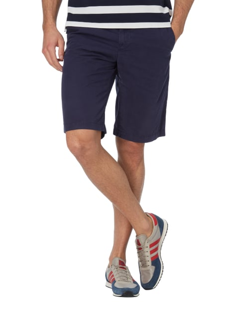 Marc O'Polo Regular Fit Bermudas aus Baumwolle Blau - 1