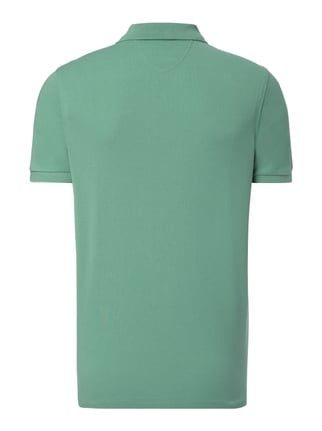 Marc O'Polo Regular Fit Poloshirt aus Baumwoll-Piqué Grün - 1