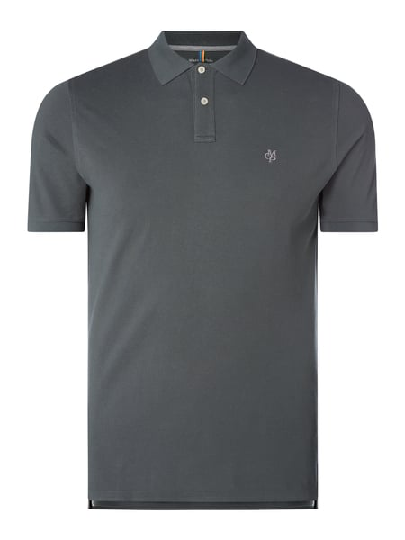 Marc O'Polo Regular Fit Poloshirt aus Baumwolle Grün - 1