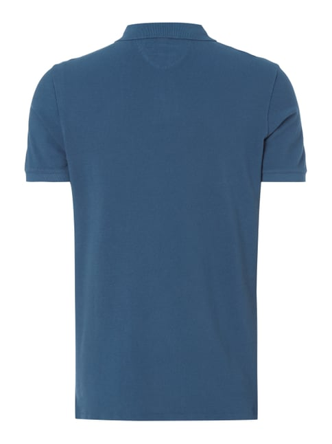 Marc O'Polo Shaped Fit Poloshirt aus Baumwoll-Piqué Marineblau - 1