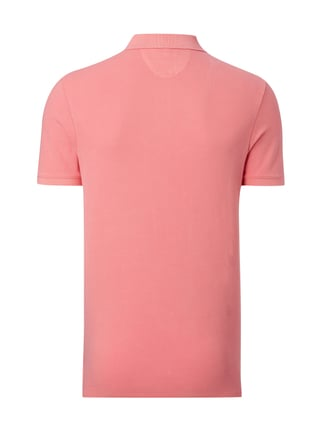 Marc O'Polo Shaped Fit Poloshirt aus Baumwoll-Piqué Pink - 1