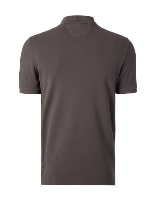 Marc O'Polo Shaped Fit Poloshirt aus reiner Baumwolle Anthrazit - 1
