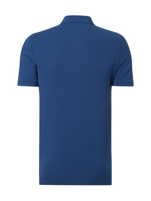 Marc O'Polo Shaped Fit Poloshirt aus reiner Baumwolle Royalblau - 1