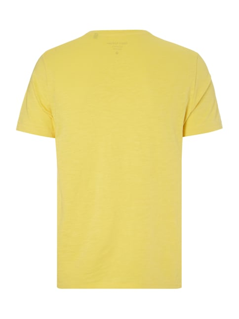 Marc O'Polo Shaped Fit T-Shirt aus Baumwolle Gelb - 1