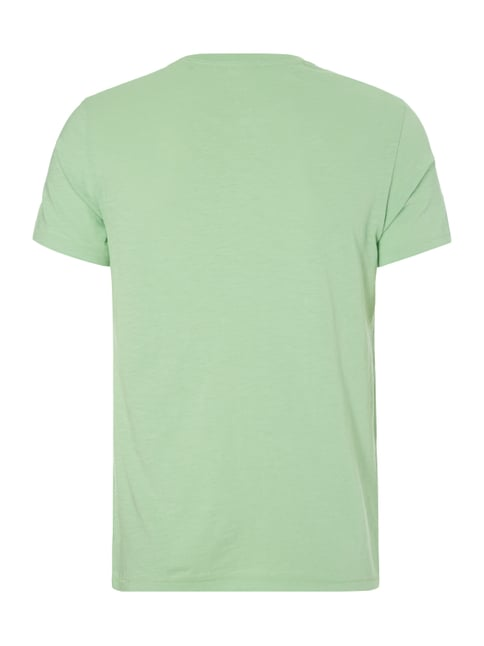 Marc O'Polo Shaped Fit T-Shirt aus Baumwolle Hellgrün - 1