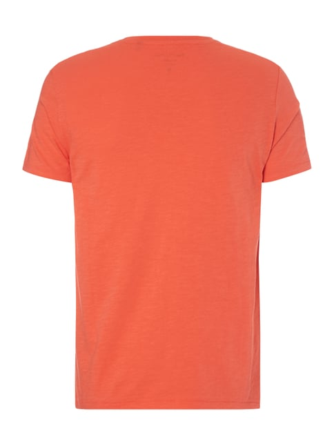 Marc O'Polo Shaped Fit T-Shirt aus Baumwolle Koralle - 1