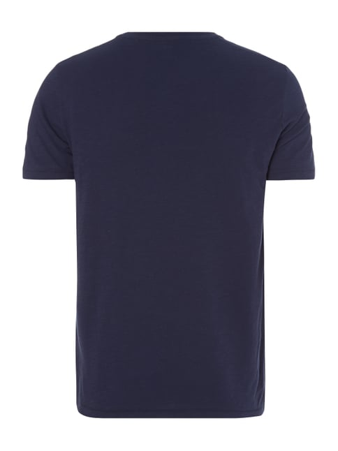 Marc O'Polo Shaped Fit T-Shirt aus Baumwolle Marineblau - 1