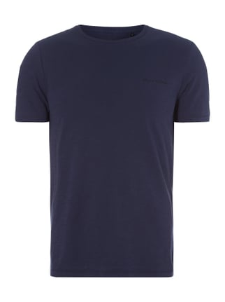 Shaped Fit T-Shirt aus Baumwolle Blau / Türkis - 1
