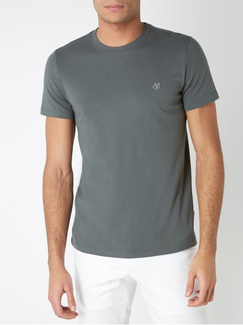 ca7b2986b58a01 ... Marc O Polo Shaped Fit T-Shirt aus Bio-Baumwolle Olivgrün - 1