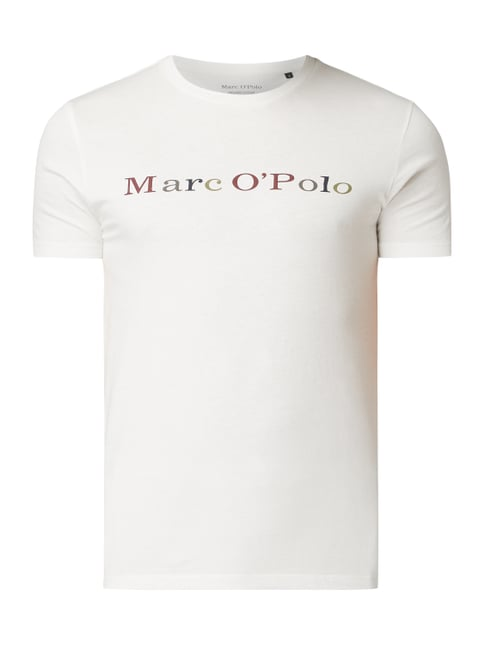 b593949862 Marc O'Polo Shaped Fit T-Shirt aus Organic Cotton Weiß ...