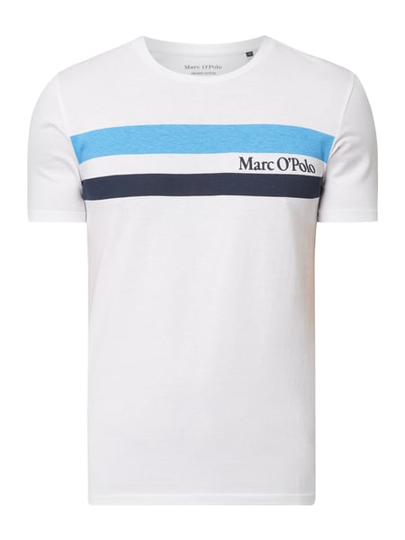 Marc O'Polo Shaped Fit T-Shirt aus Organic Cotton Weiß - 1