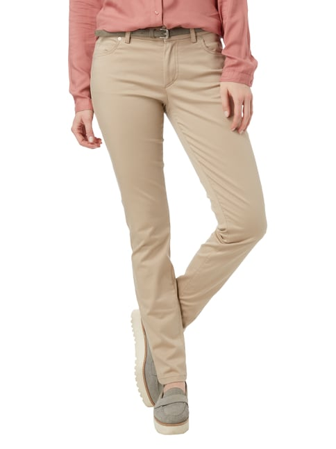 Marc O'Polo Slim Fit 5-Pocket-Hose mit Stretch-Anteil Beige - 1