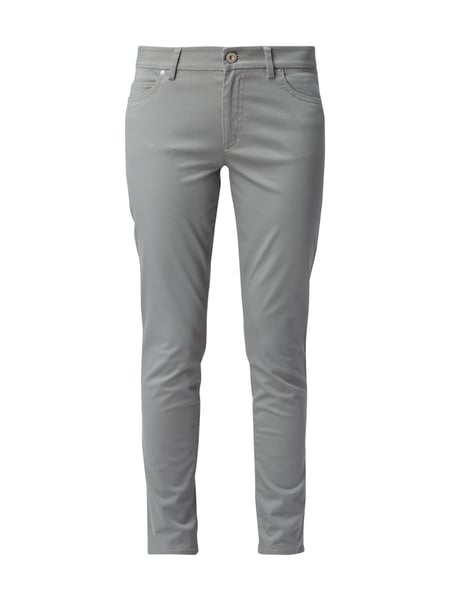 Marc O'Polo Slim Fit 5-Pocket-Hose mit Stretch-Anteil Schilf