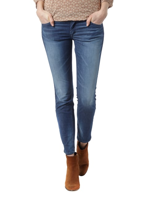 Marc O'Polo Stone Washed Jeans mit schmal zulaufendem Bein Jeans - 1