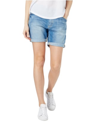 Marc O'Polo Stone Washed Jeansbermudas mit Stretch-Anteil Jeans - 1