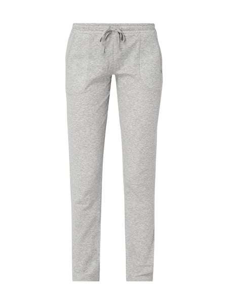 Marc O'Polo Sweatpants in Melangeoptik Grau - 1