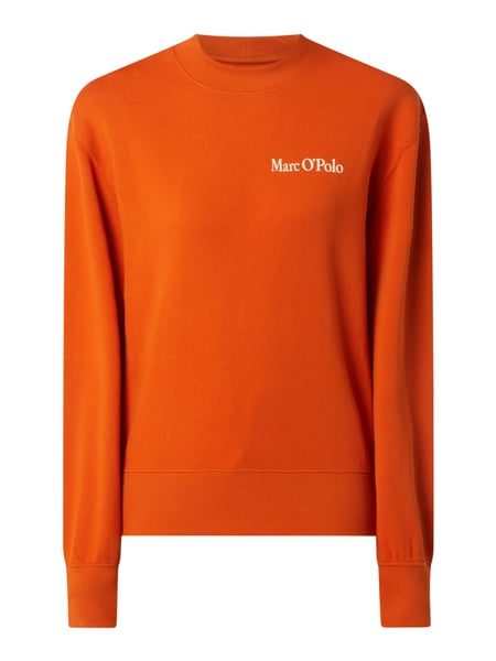 Marc O'Polo Sweatshirt aus Bio-Baumwolle Orange - 1