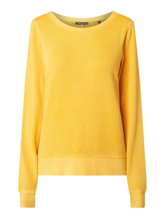 Marc O'Polo Sweatshirt im Washed Out Look Gelb - 1