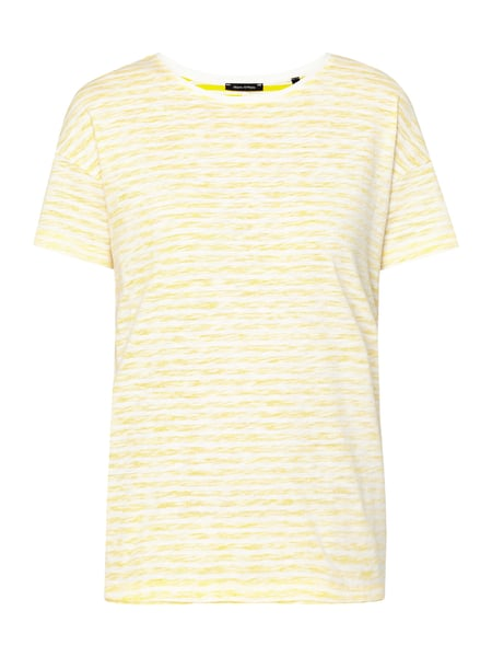 Marc O'Polo T-Shirt im Inside-Out-Look Gelb