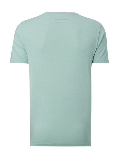 Marc O'Polo T-Shirt mit Brusttasche Mint - 1