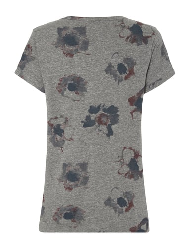 Marc O'Polo T-Shirt mit floralem Muster Graphit - 1