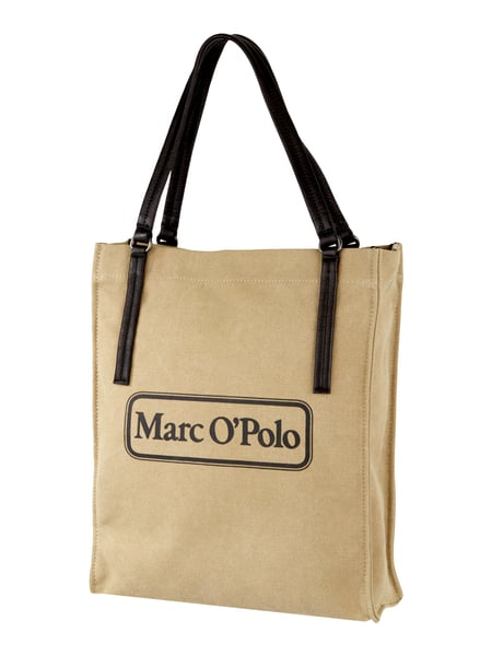 marc o polo tote bag mit trageriemen aus leder in wei online kaufen 9706170 p c online shop. Black Bedroom Furniture Sets. Home Design Ideas