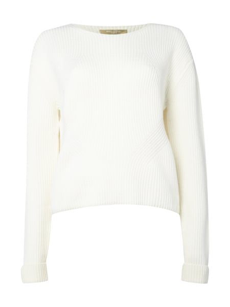 more photos 9d374 857f8 MARC-O-POLO-WHITE-LABEL Strickpullover aus Schurwolle - kurz ...