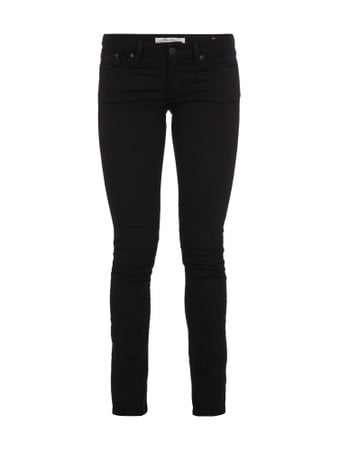 Mavi Coloured Skinny Jeans Schwarz - 1