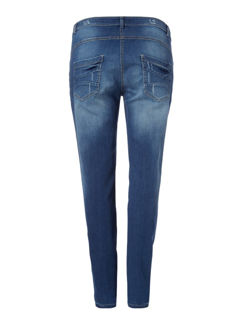 MAXIMA PLUS SIZE - Slim Fit Jeans im Destroyed Look Jeans - 1