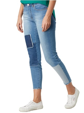 mbyM Slim Fit 5-Pocket-Jeans im Used Look Jeans - 1
