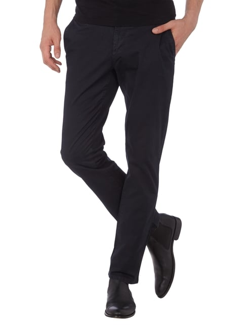 MCNEAL Chino mit Stretch-Anteil Marineblau - 1