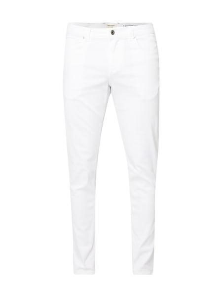 MCNEAL Coloured Tapered Fit Jeans Weiß